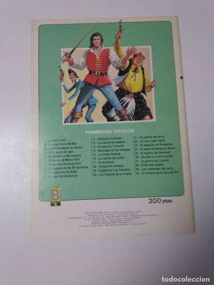 Tebeos: El Corsario de Hierro número 28 Edición Histórica 1988 Ediciones B 1989 Ediciones B 987 Ediciones B - Foto 2 - 211617076