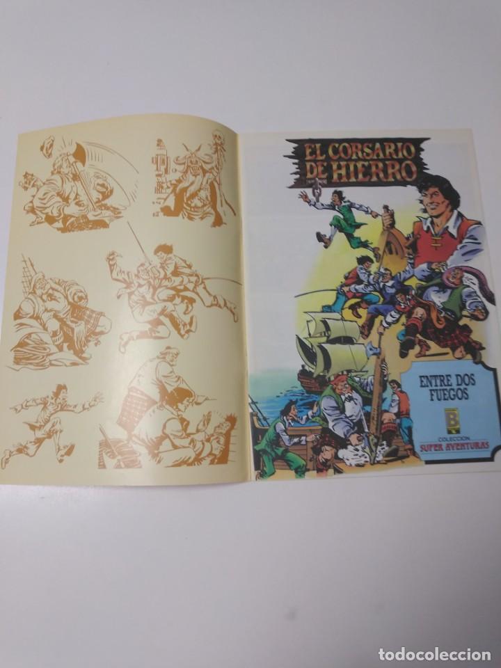 Tebeos: El Corsario de Hierro número 28 Edición Histórica 1988 Ediciones B 1989 Ediciones B 987 Ediciones B - Foto 3 - 211617076