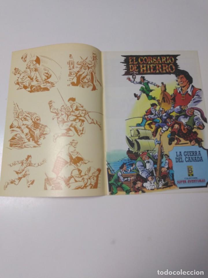 Tebeos: El Corsario de Hierro número 27 Edición Histórica 1988 Ediciones B 1989 Ediciones B 987 Ediciones B - Foto 3 - 211617187