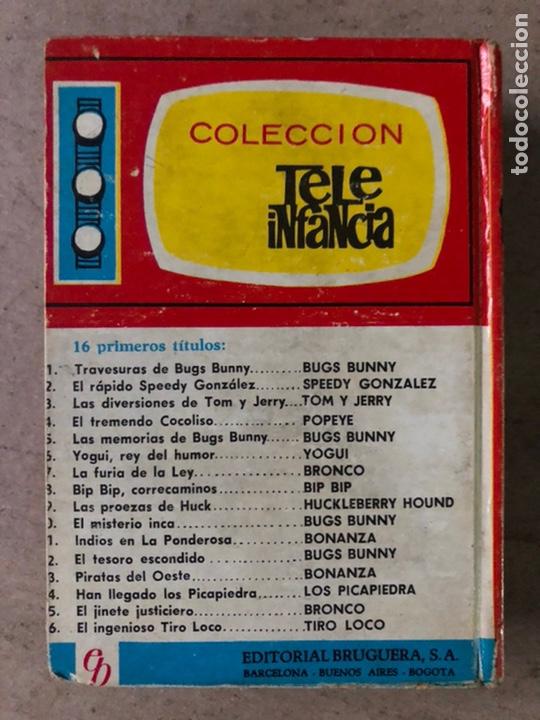 Tebeos: TELEINFANCIA: BONANZA N° 11 y 13. EDITORIAL BRUGUERA 1965 (1ª EDICIÓN). - Foto 18 - 211617315