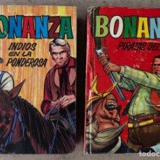 Tebeos: TELEINFANCIA: BONANZA N° 11 Y 13. EDITORIAL BRUGUERA 1965 (1ª EDICIÓN).. Lote 211617315