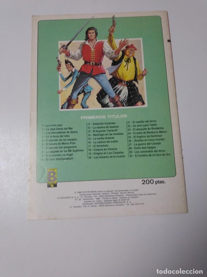 Tebeos: El Corsario de Hierro número 26 Edición Histórica 1988 Ediciones B 1989 Ediciones B 987 Ediciones B - Foto 2 - 211617327