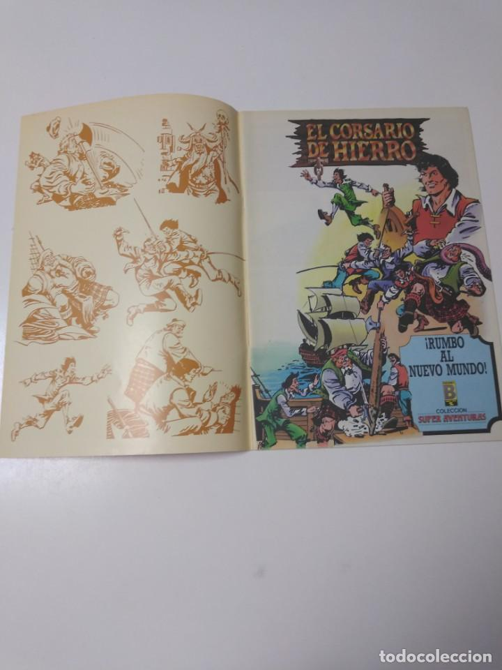 Tebeos: El Corsario de Hierro número 26 Edición Histórica 1988 Ediciones B 1989 Ediciones B 987 Ediciones B - Foto 3 - 211617327