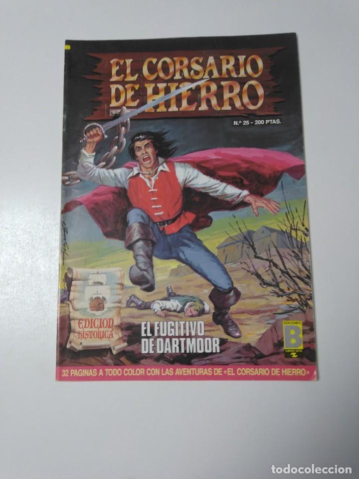 EL CORSARIO DE HIERRO NÚMERO 25 EDICIÓN HISTÓRICA 1988 EDICIONES B 1989 EDICIONES B 987 EDICIONES B (Tebeos y Comics - Bruguera - Corsario de Hierro)