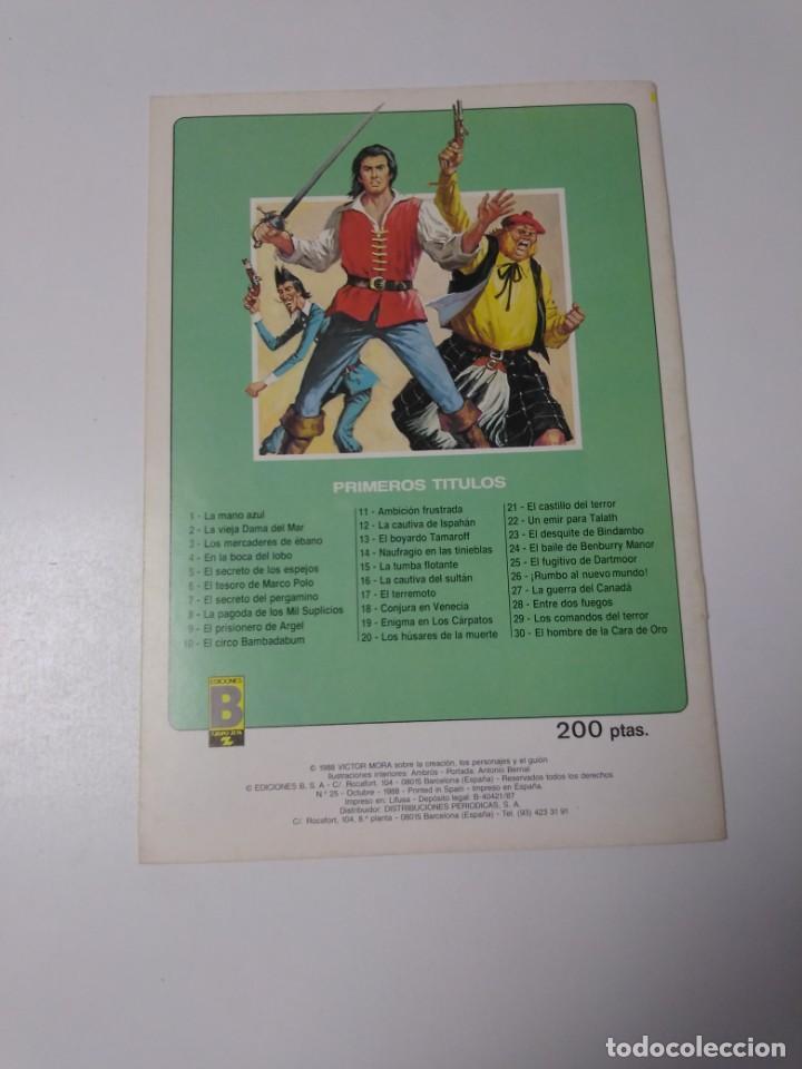 Tebeos: El Corsario de Hierro número 25 Edición Histórica 1988 Ediciones B 1989 Ediciones B 987 Ediciones B - Foto 2 - 211617427