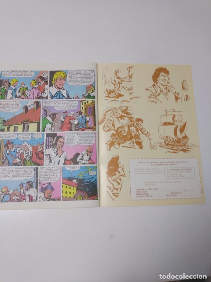 Tebeos: El Corsario de Hierro número 25 Edición Histórica 1988 Ediciones B 1989 Ediciones B 987 Ediciones B - Foto 6 - 211617427