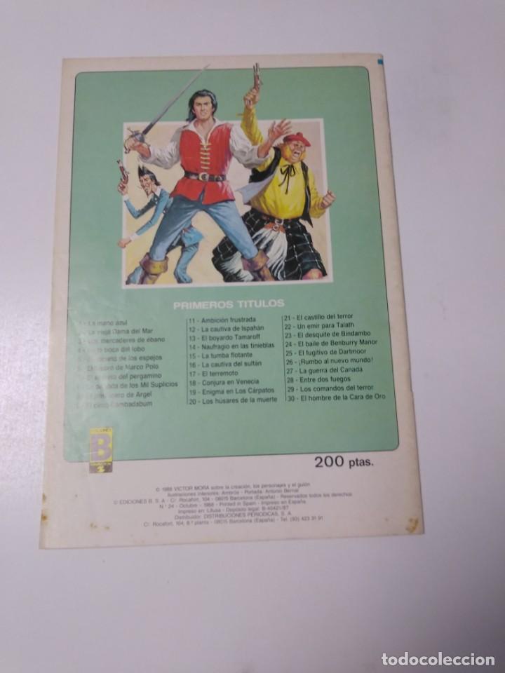 Tebeos: El Corsario de Hierro número 24 Edición Histórica 1988 Ediciones B 1989 Ediciones B 987 Ediciones B - Foto 2 - 211617567