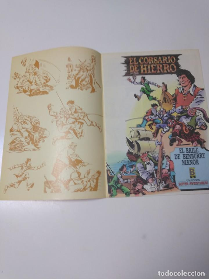 Tebeos: El Corsario de Hierro número 24 Edición Histórica 1988 Ediciones B 1989 Ediciones B 987 Ediciones B - Foto 3 - 211617567