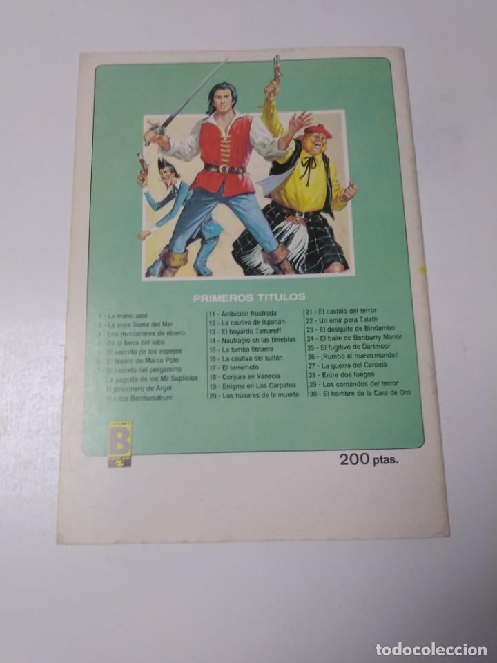 Tebeos: El Corsario de Hierro número 23 Edición Histórica 1988 Ediciones B 1989 Ediciones B 987 Ediciones B - Foto 2 - 211617694