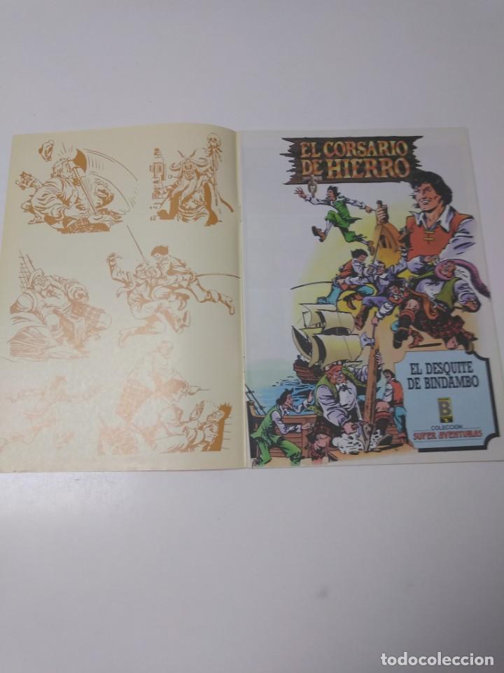 Tebeos: El Corsario de Hierro número 23 Edición Histórica 1988 Ediciones B 1989 Ediciones B 987 Ediciones B - Foto 3 - 211617694