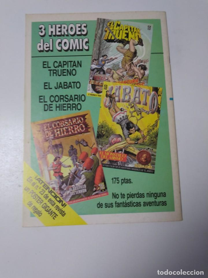 Tebeos: El Corsario de Hierro número 22 Edición Histórica 1988 Ediciones B 1989 Ediciones B 987 Ediciones B - Foto 2 - 211617830