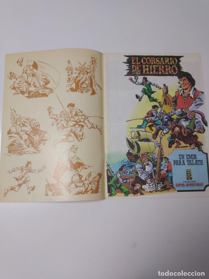 Tebeos: El Corsario de Hierro número 22 Edición Histórica 1988 Ediciones B 1989 Ediciones B 987 Ediciones B - Foto 3 - 211617830