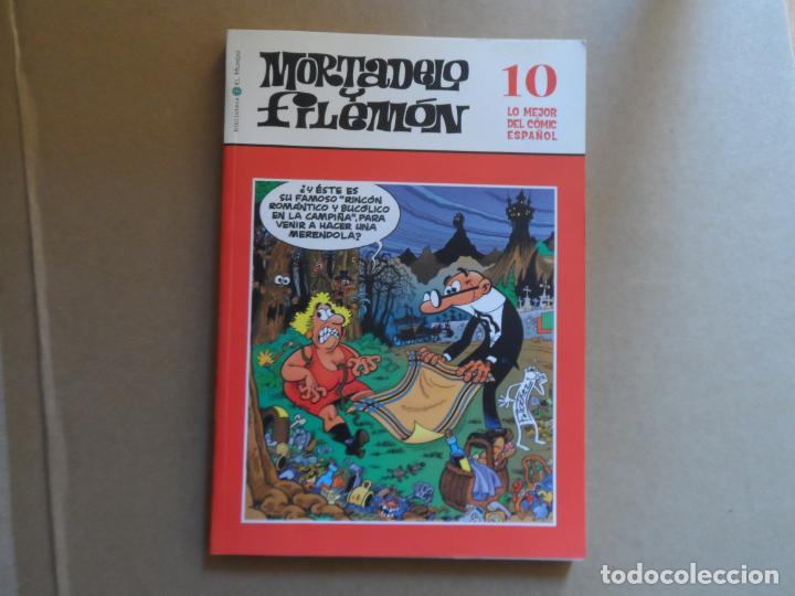 MORTADELO Y FILEMÓN - BIBLIOTECA EL MUNDO Nº 10 (Tebeos y Comics - Bruguera - Mortadelo)