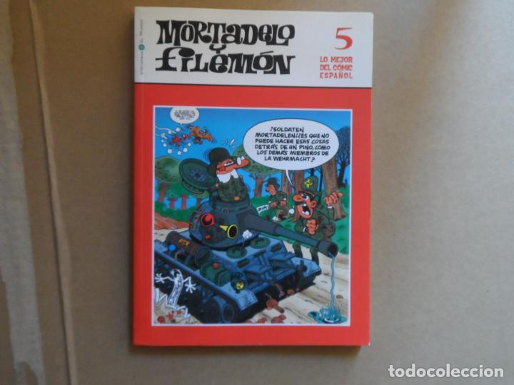 MORTADELO Y FILEMÓN - BIBLIOTECA EL MUNDO Nº 5 (Tebeos y Comics - Bruguera - Mortadelo)