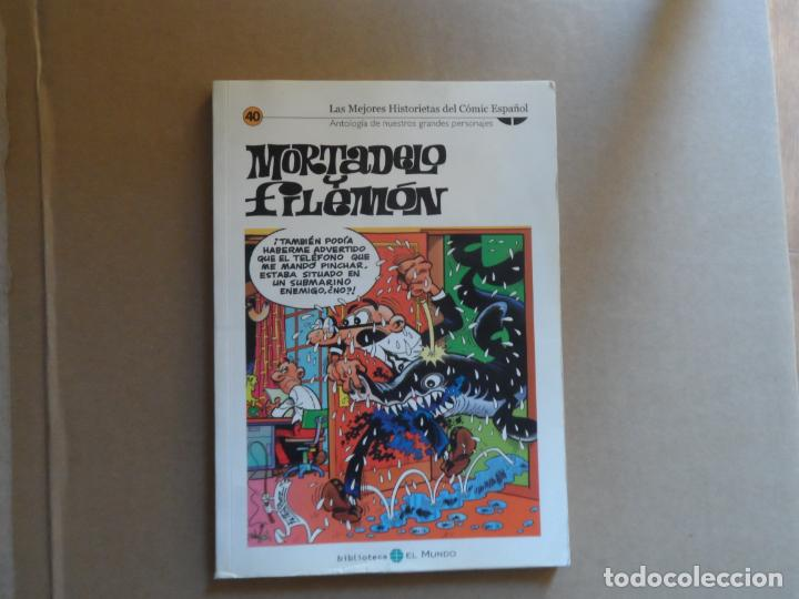 MORTADELO Y FILEMÓN - BIBLIOTECA EL MUNDO Nº 40 (Tebeos y Comics - Bruguera - Mortadelo)