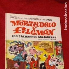 Tebeos: MORTADELO Y FILEMON - ASES DEL HUMOR 30 - LOS CACHARROS MAJARETAS - IBAÑEZ - CARTONE. Lote 211629510