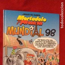 Tebeos: MORTADELO Y FILEMON - MAGOS DEL HUMOR 74 - MUNDIAL 98 - IBAÑEZ - CARTONE. Lote 211629527