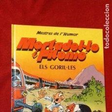Tebeos: MORTADELO Y FILEMON - MESTRES DEL HUMOR 13 - ELS GORIL-LES - IBAÑEZ - CARTONE - EN CATALAN. Lote 211629532