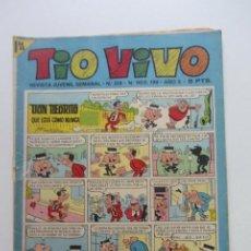 Tebeos: TIO VIVO - Nº 319 - EDITORIAL BRUGUERA . CX60. Lote 211652129