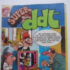 Tebeos: SUPER DDT Nº 5. BRUGUERA 1973. 18 PTS. DIFÍCIL!!!! BRUGUERA CX60. Lote 211652605