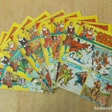 Giornalini: LOTE 10 CAPITAN TRUENO EXTRA - NUMEROS CORRELATIVOS - BRUGUERA - AÑO 1965 ...L1564. Lote 211661431