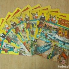 Giornalini: LOTE 10 CAPITAN TRUENO EXTRA - NUMEROS CORRELATIVOS - BRUGUERA - AÑO 1965 ...L1565. Lote 211661759