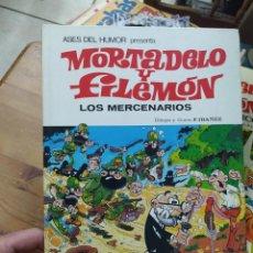 Tebeos: MORTEDELO Y FILEMON, LOS MERCENARIOS. CO-257. Lote 211685571
