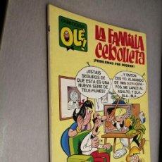 Giornalini: COLECCIÓN OLÉ Nº 4: LA FAMILIA CEBOLLETA / BRUGUERA 2ª EDICIÓN 1977. Lote 211688385