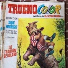 Tebeos: TRUENO COLOR 1669 SUPER AVENTURAS REVISTA JUVENIL LA TRAICION DE GOLABO AÑO VII. Lote 211695518