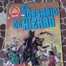 Tebeos: BRUGUERA EL CORSARIO DE HIERRO SERIE ROJA NRO 55 JOYAS LITERARIAS JUVENILES LA CIUDAD OLVIDADA. Lote 211702820