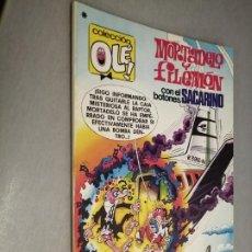 Tebeos: COLECCIÓN OLÉ Nº 165: MORTADELO Y FILEMÓN / BRUGUERA 1ª EDICIÓN 1978. Lote 211703991