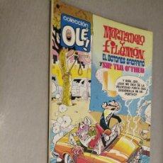 Tebeos: COLECCIÓN OLÉ Nº 166: MORTADELO Y FILEMÓN / BRUGUERA 1ª EDICIÓN 1978. Lote 211704048
