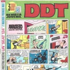 Tebeos: DDT. NÚMERO 167. SEPTIEMBRE 1970. Lote 211750047