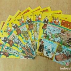 Giornalini: LOTE 10 CAPITAN TRUENO EXTRA - NUMEROS CORRELATIVOS - BRUGUERA - AÑO 1965 ...L1566. Lote 211764885