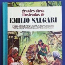 Tebeos: GRANDES OBRAS ILUSTRADAS DE EMILIO SALGARI Nº 3 - PRIMERA EDICIÓN 1979. Lote 211817308