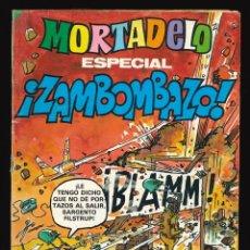 Tebeos: MORTADELO ESPECIAL - BRUGUERA / NÚMERO 107 (ESPECIAL ZAMBOMBAZO). Lote 211833167