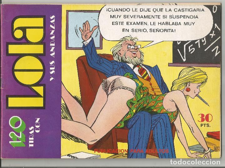 LOLA EDITORIAL BRUGUERA Nº 25 (Tebeos y Comics - Bruguera - Otros)