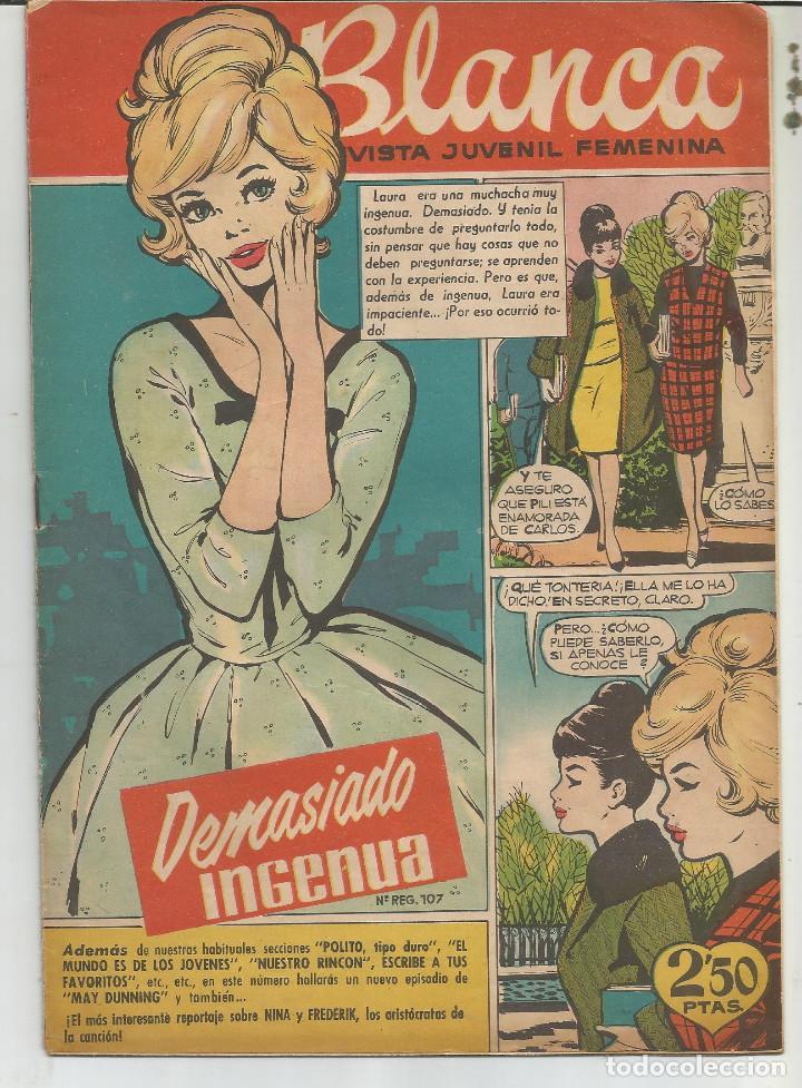 BLANCA Nº 55 EDITORIAL BRUGUERA (Tebeos y Comics - Bruguera - Otros)
