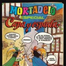 Tebeos: MORTADELO ESPECIAL - BRUGUERA / NÚMERO 96 (ESPECIAL CAPA Y ESPADA). Lote 212029610