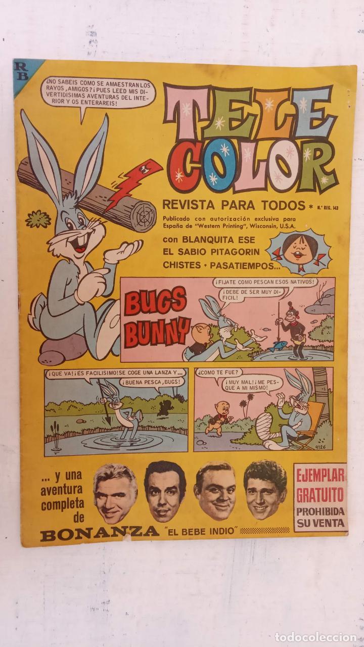 TELE COLOR SIN NUMERAR CON BONANZA (Tebeos y Comics - Bruguera - Tele Color)