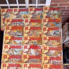 Tebeos: EL JABATO ALBUM GIGANTE38,37,36,35,34,33,32,31,29,26,25,24,23,19,17,16,15,14,13,12,11,10,9,8,7,6,4,3. Lote 212307028