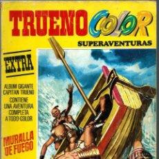 Tebeos: TRUENO COLOR EXTRA TERCERA EPOCA Nº 8 - MURALLA DE FUEGO - BRUGUERA 1978. Lote 212332767