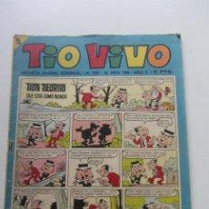Giornalini: TIO VIVO Nº 318. BRUGUERA 1967 BRUGUERA MUCHOS MAS EN VENTA, MIRA TUS FALTAS CX60. Lote 212374387