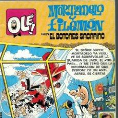 Tebeos: OLE Nº 256 MORTADELO Y FILEMON - EL BALON CATASTROFICO - BRUGUERA 1982 - 1ª EDICION - MUY DIFICIL. Lote 212405237
