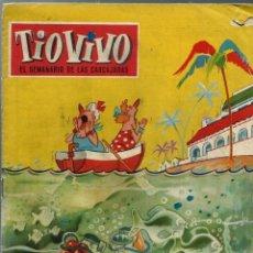 Tebeos: TIO VIVO Nº 109 - CRISOL 1959 - ORIGINAL. Lote 212462581
