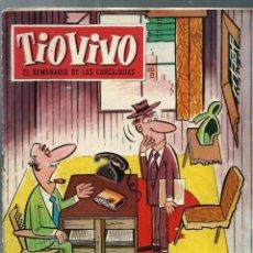 Tebeos: TIO VIVO Nº 148 - CRISOL 1960 - ORIGINAL. Lote 212462685