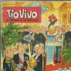 Tebeos: TIO VIVO EPOCA 2ª Nº 1 - BRUGUERA 1961 - ORIGINAL - MUY RARO Y DIFICIL - A BUEN PRECIO. Lote 212462961