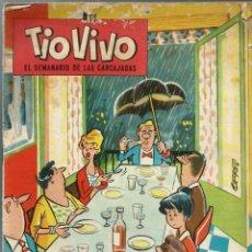 Tebeos: TIO VIVO EPOCA 2ª Nº 2 - BRUGUERA 1961 - ORIGINAL - MUY RARO Y DIFICIL - A BUEN PRECIO. Lote 212463027