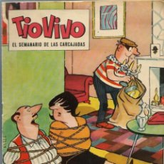 Tebeos: TIO VIVO EPOCA 2ª Nº 85 - BRUGUERA 1962 - ORIGINAL. Lote 212463213