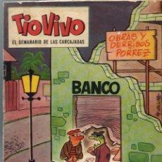 Tebeos: TIO VIVO EPOCA 2ª Nº 88 - BRUGUERA 1962 - ORIGINAL - UNICO EN TODOCOLECCION - MUY RARO. Lote 212463343